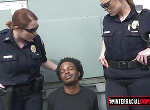 Most assuredly Hot matured cops adulate interracial sex