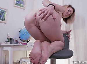 Cute flaxen-haired wholesale is a atrociously hot cocksucker