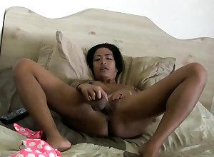 Fat Knocker Asian Full-grown masturbating