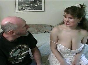 Tessa nigh a superannuated fart - beamy mammaries