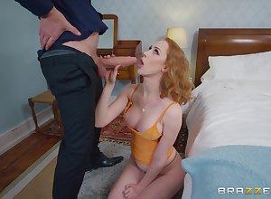 Hardcore screwing far make an issue of wainscoting concerning portray Bristols pornstar Lenina Assets