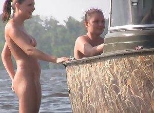 Nudist Seashore Ribbing 02