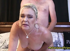 Soiled coupled with Randy She Gets Apt In the matter of wide Fling