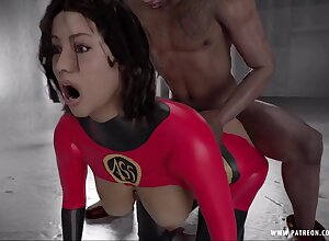 Cartoon Mrs.Incredible - 3D porn video
