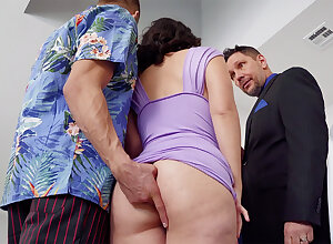 Adulterer romps in anal onslaught mate's wifey at soiree